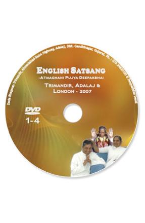 Picture of English Satsang With Deepakbhai  - Part  1-4 (Adalaj  & London - 2007)
