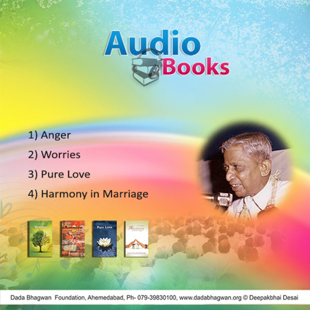 Picture of AUDIO BOOK 2 [ANGER,WORRIES, PURELOVE,HARMONY]