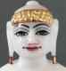 """Picture of Super White Simandhar Swami 7"""" Murti 7S8"""