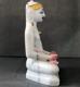 "Picture of Normal White Simandhar Swami 9"" Murti 9N2"