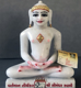 "Picture of Normal White Simandhar Swami 9"" Murti 9N3"