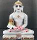 "Picture of Normal White Simandhar Swami 11"" Murti 11N1"