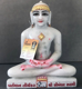 "Picture of Normal White Simandhar Swami 11"" Murti 11N2"