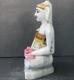 "Picture of Normal White Simandhar Swami 11"" Murti 11N4"
