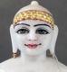 "Picture of Normal White Simandhar Swami 11"" Murti 11N5"