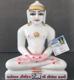 """Picture of Super White Simandhar Swami 11"""" Murti 11S1"""