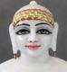 """Picture of Super White Simandhar Swami 11"""" Murti 11S2"""