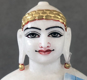 "Picture of Super White Simandhar Swami 13"" Murti 13S2"
