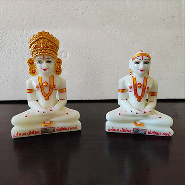 "Picture for category 4"" Simandhar Swami  Molded  Murti"