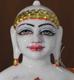 "Picture of 11N12 Normal White Simandhar Swami 11"" Murti 11N12"