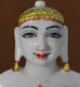 "Picture of 11N17 Normal White Simandhar Swami 11"" Murti 11N17"