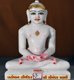 "Picture of Normal White Simandhar Swami 13"" Murti 13N6"