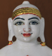"Picture of Normal White Simandhar Swami 13"" Murti 13N11"
