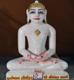 "Picture of Normal White Simandhar Swami 13"" Murti 13N12"