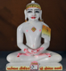 "Picture of Normal White Simandhar Swami 13"" Murti 13N16"