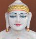 "Picture of Normal White Simandhar Swami 13"" Murti 13N32"