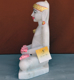 "Picture of Normal White Simandhar Swami 13"" Murti 13N31"