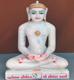 "Picture of Normal White Simandhar Swami 13"" Murti 13N24"