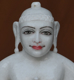 "Picture of Super White Simandhar Swami 15"" Murti 15S02"