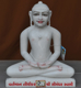 "Picture of Super White Simandhar Swami 15"" Murti 15S03"