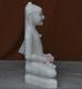 """Picture of Super White Simandhar Swami 15"""" Murti 15S03"""