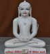 "Picture of Super White Simandhar Swami 15"" Murti 15S04"