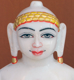 "Picture of Normal White Simandhar Swami 13"" Murti 13N36"