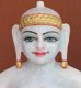 "Picture of Normal White Simandhar Swami 13"" Murti 13N38"
