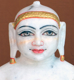 "Picture of Normal White Simandhar Swami 11"" Murti 11N26"