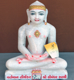 "Picture of Normal White Simandhar Swami 11"" Murti 11N27"