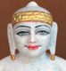 "Picture of Normal White Simandhar Swami 11"" Murti 11N30"