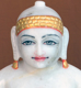 "Picture of Normal White Simandhar Swami 11"" Murti 11N31"