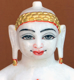 "Picture of Normal White Simandhar Swami 11"" Murti 11N32"
