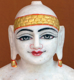 "Picture of Normal White Simandhar Swami 11"" Murti 11N33"
