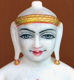 "Picture of Normal White Simandhar Swami 11"" Murti 11N36"