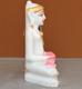 """Picture of Super White Simandhar Swami 9"""" Murti 9S36"""