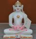 """Picture of Super White Simandhar Swami 9"""" Murti 9S11"""