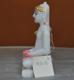 """Picture of Super White Simandhar Swami 9"""" Murti 9S12"""