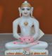 """Picture of Super White Simandhar Swami 9"""" Murti 9S16"""