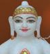 """Picture of Super White Simandhar Swami 9"""" Murti 9S17"""