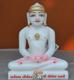 """Picture of Super White Simandhar Swami 9"""" Murti 9S18"""