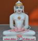 """Picture of Super White Simandhar Swami 9"""" Murti 9S19"""