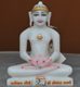 "Picture of Super White Simandhar Swami 9"" Murti 9S23"