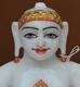 """Picture of Super White Simandhar Swami 9"""" Murti 9S24"""
