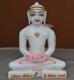 """Picture of Super White Simandhar Swami 9"""" Murti 9S30"""