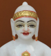 "Picture of 7S13 Super White Simandhar Swami 7"" Murti 7S13"