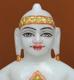 """Picture of 7S21 Super White Simandhar Swami 7"""" Murti 7S21"""