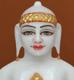 """Picture of 7S24 Super White Simandhar Swami 7"""" Murti 7S24"""