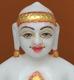 """Picture of 7S25 Super White Simandhar Swami 7"""" Murti 7S25"""