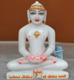 """Picture of 7S26 Super White Simandhar Swami 7"""" Murti 7S26"""